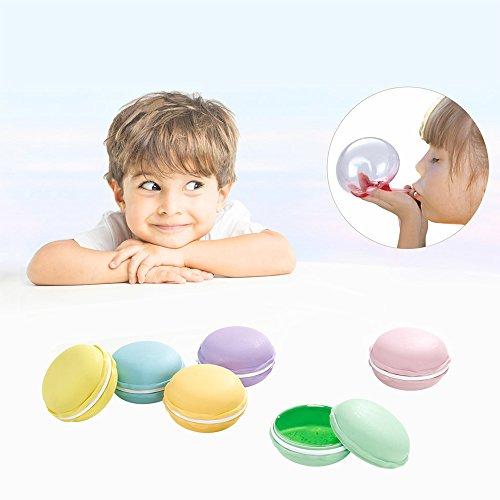 Macarons Slime Kit Cristal Mud Kit de Arcilla de Caucho de Barro Modelado Creativo Presión Magia Plastilina Juguetes para Niños y Adulto 12 Unidades
