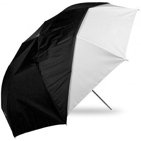 Westcott - Paraguas plegable para fotografía (109 cm, funda negra desmontable), color blanco