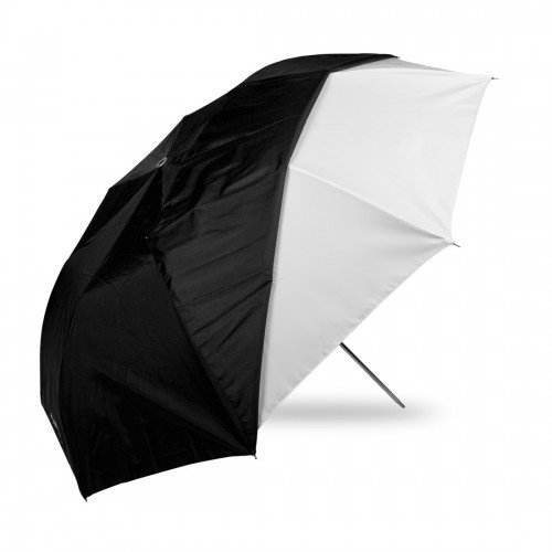 westcott-43-inch-optical-satin-collapsible-with-removable-black-cover-white