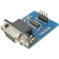 BeMatik - Conversor electrónico Serie RS232 a TTL. Módulo SP3232 DW-0721