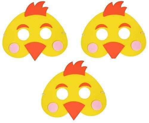 3 x Oster-küken EVA Schaumstoff Maske Kinder Parade Kostüm