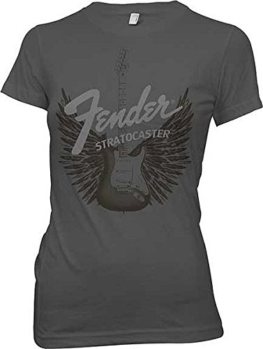 Fender Guitars Strat Wings Junior Donne T-Shirt
