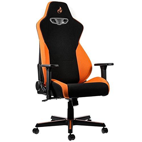 NITRO CONCEPTS NC-S300-BO-UK - S300 Fabric Gaming Chair - Horizon Orange