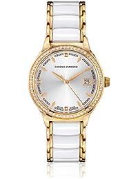 Chrono Diamond Reloj con movimiento cuarzo suizo Woman 10410F Thyrsa
