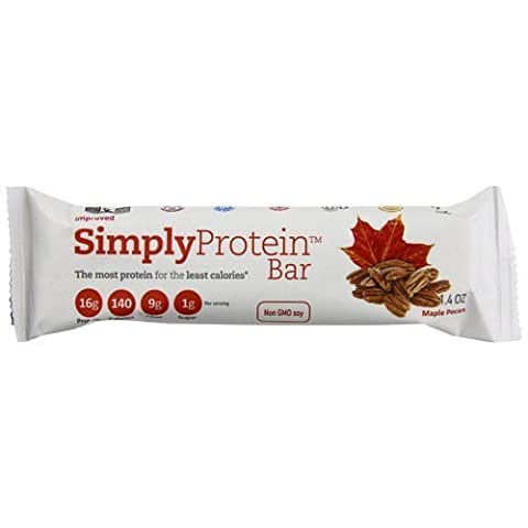 Simply Protein Bar, Maple Pecan, 1.4 Ounce by SimplyProtein