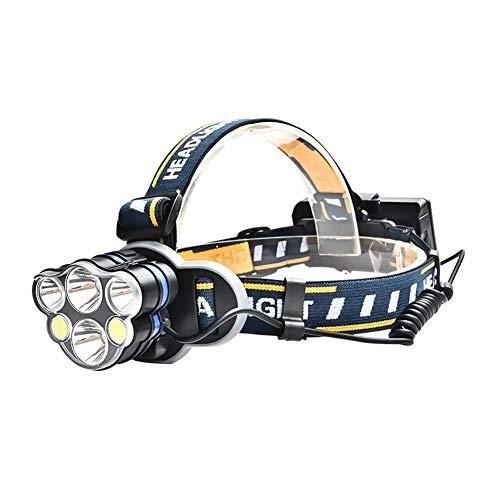 shewt 12000 lumens LED phares de Travail 18650 USB Rechargeable Lampe de Poche étanche avec projecteur rétractable pour Le Camping randonnée