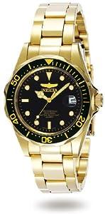 Invicta 8934 - Reloj analógico de caballero de cuarzo con correa de acero inoxidable multicolor