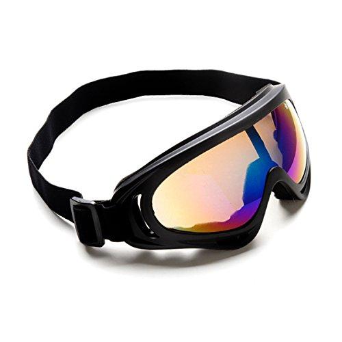 Jugend-snowboard-paket (Ski Goggles Fit Unisex Männer Frauen, NATUCE Bendable Schnee Skate Gläser mit Anti-Fog Winddichte Linse für Snowboarding Skating, 101% UVA / UVB Schutz - Bunte)