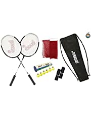 Jaspo Cosmo EZ200 Plus 2 BadmintonNylon Shuttle Cork Carry