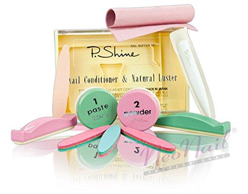 NeoNail Japanische Maniküre XL P Shine Maniküre-Set Zubehör Vintage Japan P-Shine die beste Qualität Effizient
