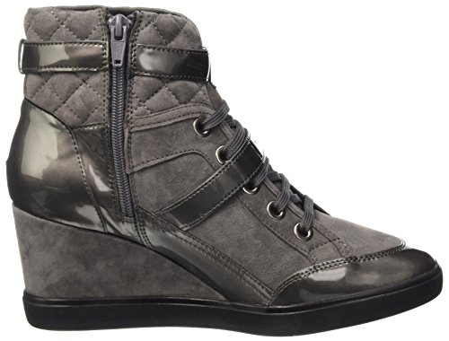 Geox D Eleni C, Sneakers Hautes Femme Grau (DK GREYC9002)