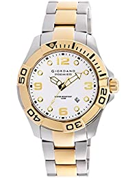 Giordano Analog White Dial Men's Watch - P156-55