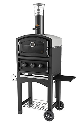 Fornetto GLPZ5EUB Fired Wood Oven - Black