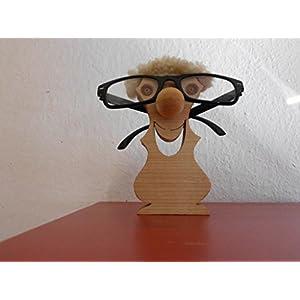 Brillenständer, Brillenhalter aus Holz, Brillenständer Holz, Brillenablage, Brillennase, Brillenhalter selbstgemacht, Brillenzubehör, Brillenhalterung, Brillenaufbewahrung, Erik