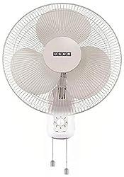 Usha Mist Air 400mm Wall Fan (White)
