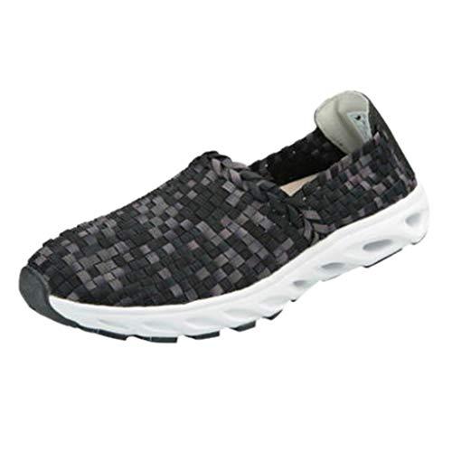 Precioul Damen Freizeitschuhe atmungsaktiv handgewebte Turnschuhe faul Schuhe Schuhe fahren qualitativ hochwertige