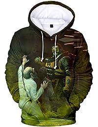Lzh3D Sudaderas con Capucha Unisex Impresión 3D Sudadera con Capucha Camiseta De Béisbol Cosplay ...