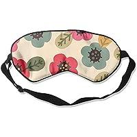 Comfortable Sleep Eyes Masks Colorful Flower Pattern Sleeping Mask For Travelling, Night Noon Nap, Mediation Or... preisvergleich bei billige-tabletten.eu