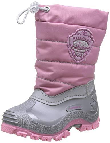 Spirale Mädchen Sabrina Schneestiefel, Pink (Rosa/Grigio 02774218), 32 EU