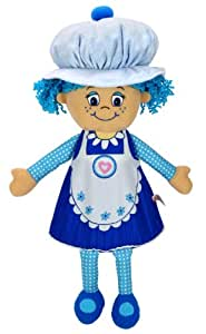 """Little Miss Muffin 19"""" Deluxe Muffin Blueberry"""