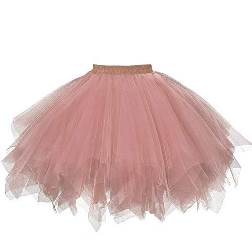 ntage Ballet Blase Firt Tulle Petticoat Puffy Tutu Blush Small/Medium ()