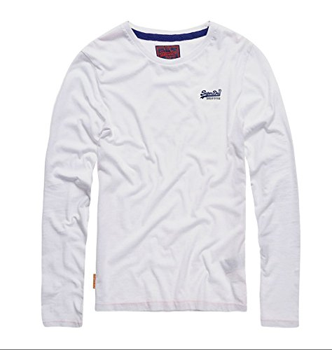 Superdry Herren T-Shirt M60000ns Bianco (Optic)