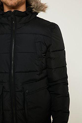 Threadbare - Blouson - Veste damassée - Homme Noir