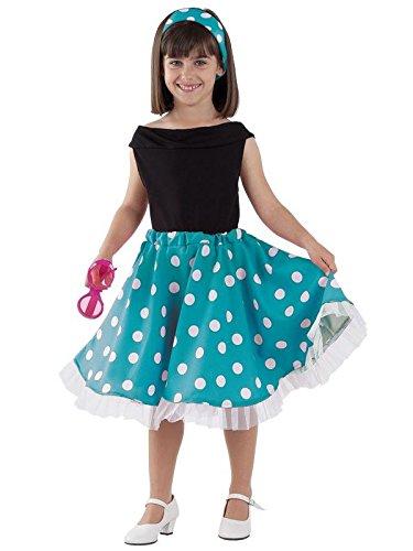 Disfraz años 50 infantil - Único, 11 a 13 años