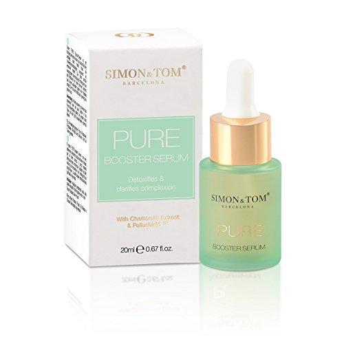 Simon & Tom - Sérum Facial Purifica y Oxigena la piel, Efecto DETOX 20ml (PURE...