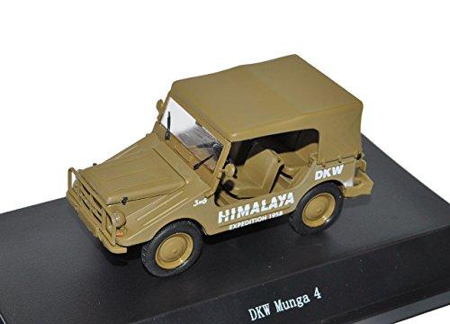 Preisvergleich Produktbild Fehlendes Rücklicht DKW Munga 4 Himalaya Expedition 1958 Cabrio Braun 1 / 43 Ist Ixo Modell Auto