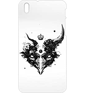 a AND b Designer Printed Mobile Back Cover / Back Case For HTC Desire 816 (HTC_816_3D_2724)