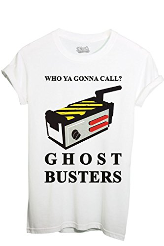 T-Shirt WHO YA GONNA CALL - GHOSTBUSTERS - FILM by MUSH Dress Your Style - Donna-M-BIANCA