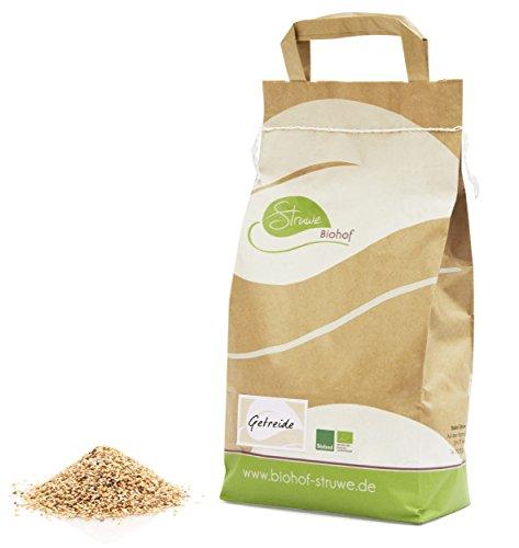 Bio Roggen, ganzes Korn - 25 kg - Direkt vom Biohof Struwe (Gepäck Korn)