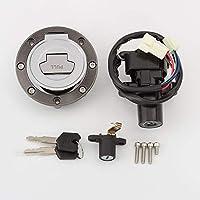 Cerradura de interruptor de encendido de motocicleta Cerradura de asiento de combustible Cerradura de tanque de