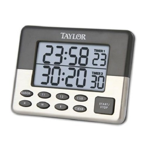 Taylor 58729 Dual Event Timer by Taylor Precision Products Taylor Timer