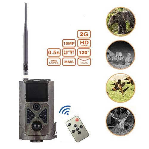 QinLL Wild Überwachungskamera 2G SMS MMS SMTP 2.0