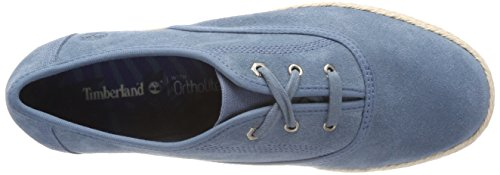 Timberland Women s Elvissa Sea Leather Oxfords   Aegean Blue 476   6 UK 6 UK