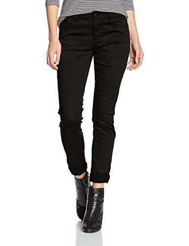 ONLY Damen Hose Onlelena Reg Skinny Pant Noos, Schwarz (Black), 36/L34 (Herstellergröße: 36)