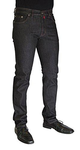 Pierre Cardin DEAUVILLE - Nr. 3196 - Regular Fit Herren Stretch Jeans - Jeans-Manufaktur Edition black denim rinse (3196 145.05)
