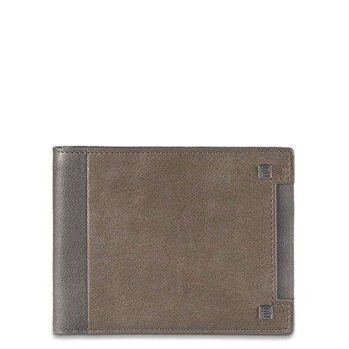 Wallet Hommes Piquadro | cuir | Avec Porta Spicci | PU257WO6-Toupe