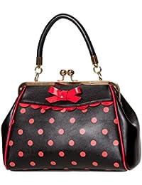 031e2cd292e1d Banned Crazy Little Thing Vintage Bag 50er Jahre Rockabilly Polka Top  Henkel Handtasche