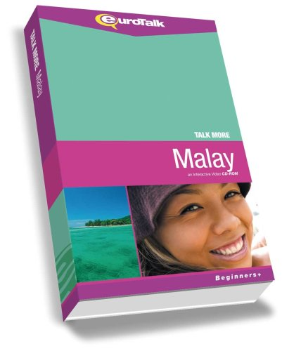 Talk More Malay: Interactive Video CD-ROM - Beginners+ (PC/Mac) [Import]