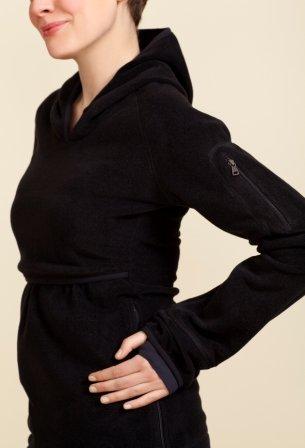 BOOB® Le pull d'allaitement en polaire T-shirt de grossesse T-shirt de grossesse Noir