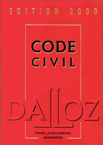Code civil 2000