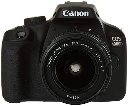 Canon EOS 4000D BK 18-55 IS EU26 Corpo della fotocamera SLR 18 MP 5184 x 3456 Pixel Nero