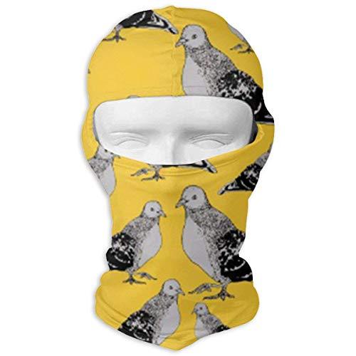 liulishuan Blackbird Pattern Balaclava Windproof Face Mask for Spring Summer Autumn Thin Mask New7 Pattern-thin Hals
