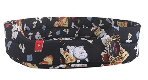 Ducomi® - Fufy - Cama perros gatos tejido Oxford