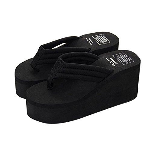 6348b22977 ZARLLE Chanclas Mujer Sandalias Antideslizantes De Verano Chanclas Zapatos  De Playa Calzado Mujer Sneakers CuñAs Mujer