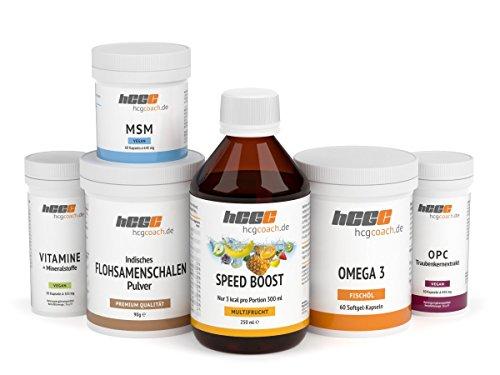 hCG Diät/Stoffwechselkur 30 Tage Basisversorgung in Spitzenqualität (SpeedBoost Multifrucht)