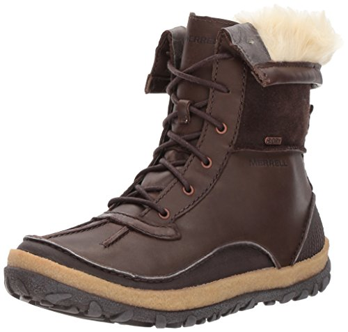 Merrell Women's Tremblant Mid Polar Waterproof Snow Boot, Espresso, 5 M US -